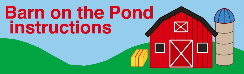 fun slide barns on the pond