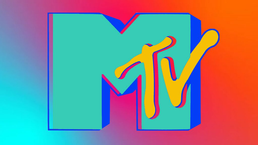 MTV logo rainbow