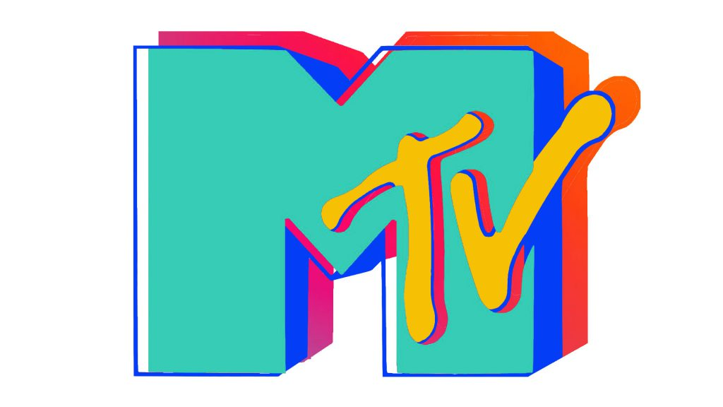 MTV logo rainbow